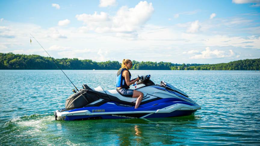 Vattenskotern är en båttyp som är här för att stanna, ett bra insteg till båtliv för många. Bild Yamaha.