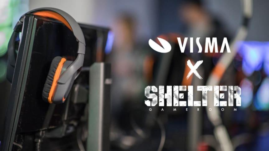 Visma aloittaa esports-yhteistyön Shelter Gameroomin kanssa (kuva: Sami Tuoriniemi)