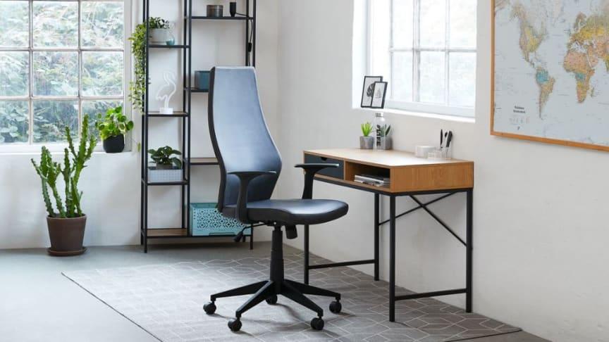 Ranking 5 najlepiej ocenianych krzeseł biurowych JYSK