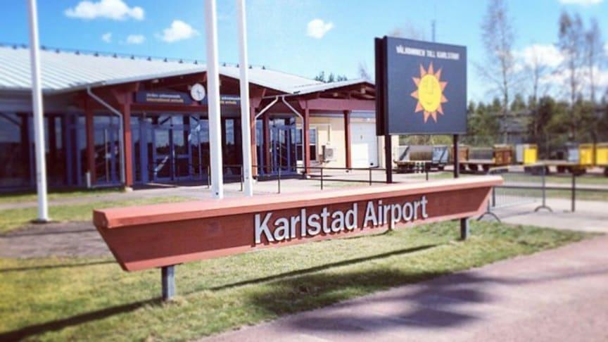 Glada nyheter för Karlstad Airport!