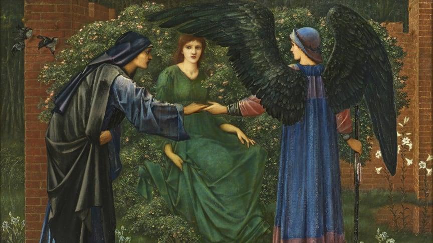 Edward Burne-Jones, Heart of the Rose, 1889.