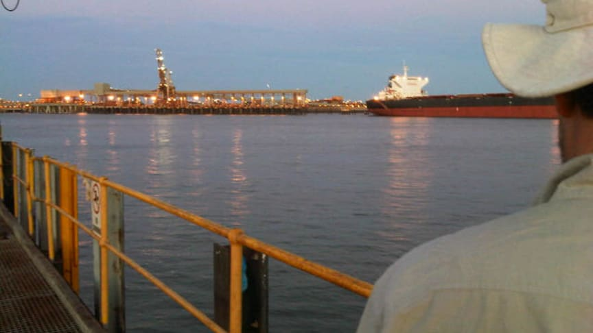 Dawn at Port Hedland, Western Australia. #Cavotecfilm