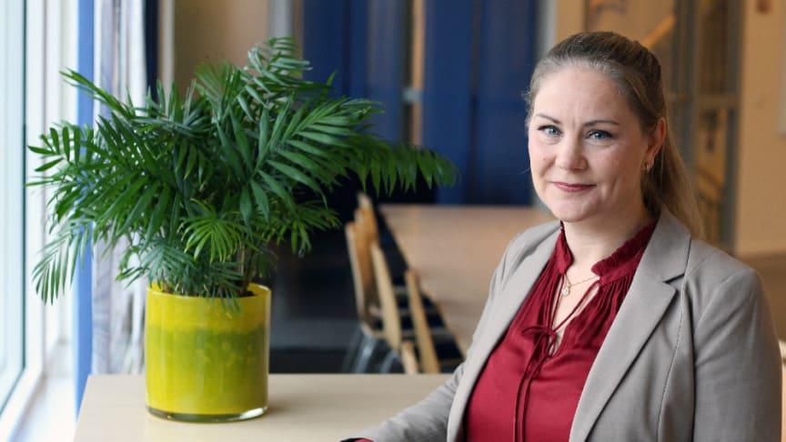 Linda Ekdahl blir ansvarig för Hogias största bolag, som har utvecklat IT-system för kollektivtrafik sedan 1988.