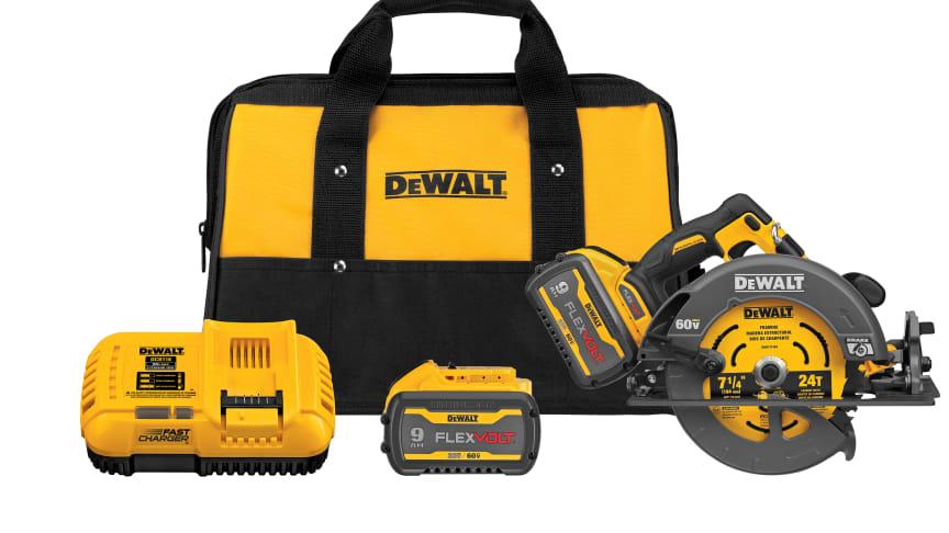 DEWALT Enhances Three Original 60V MAX* FLEXVOLT® Tools