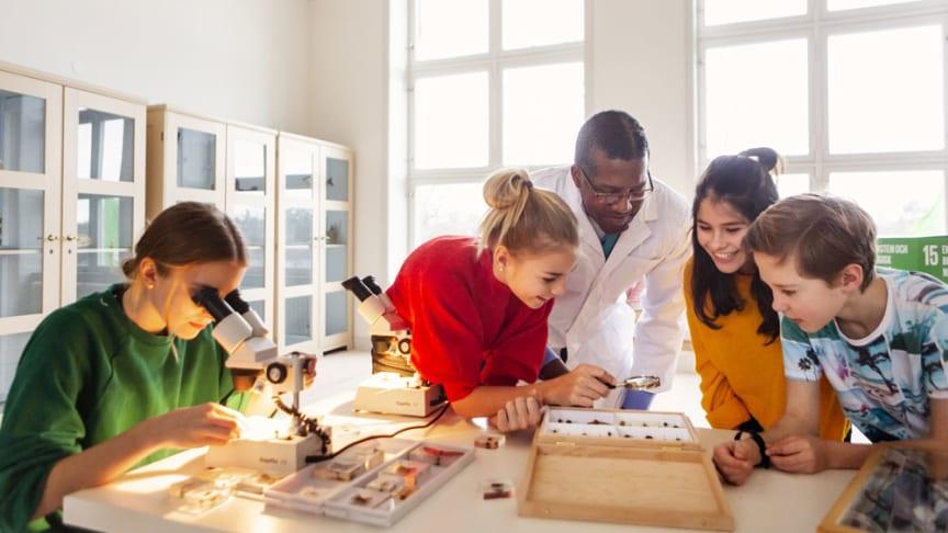 Naturhistoriska riksmuseet inspirerar med digitalt klassrumsmaterial