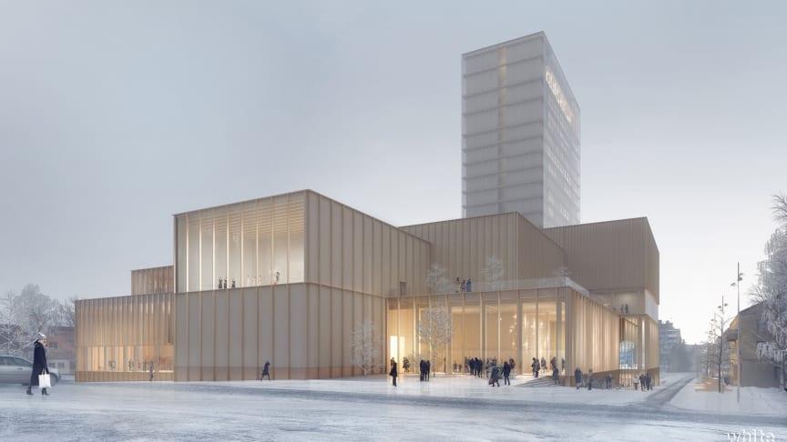 Konstnärer ska bidra till gestaltningen av Skellefteås kulturhus