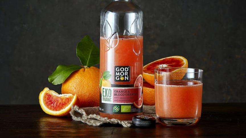Nyhet God Morgon® EKO Orange & Blood orange