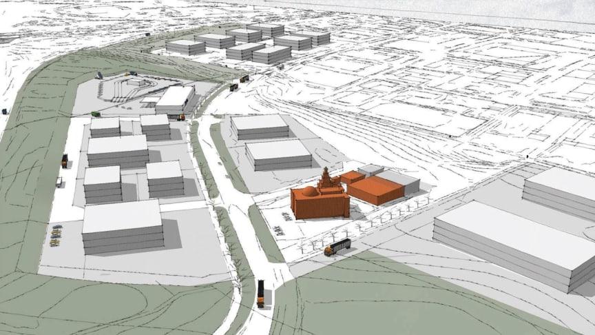MVB tar första grävtagen för nya Elisedal i Malmö