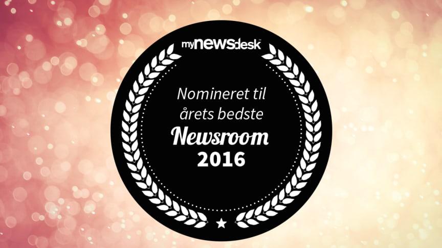 Her er de nominerede til Årets Newsroom 2016