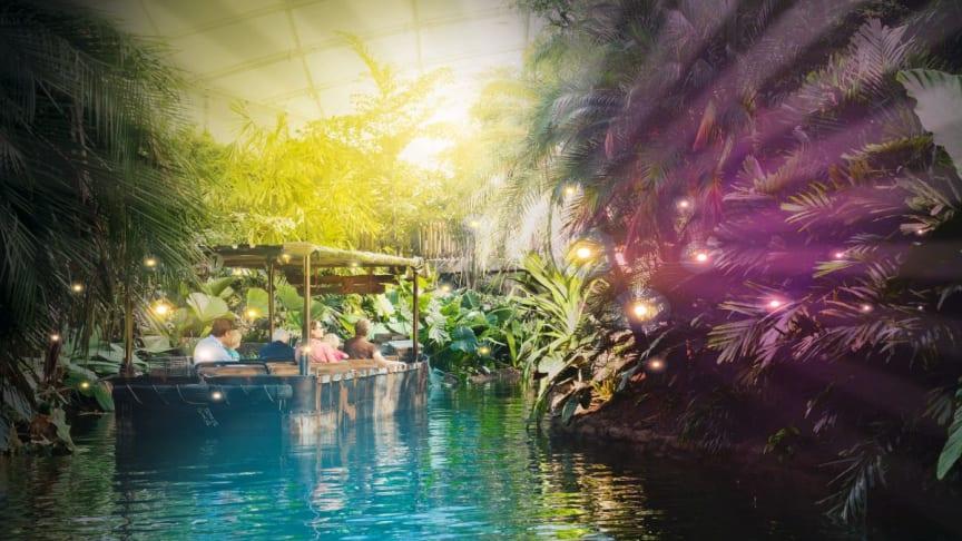 Magisches Tropenleuchten vom 8. bis 24. Februar 2018 im Gondwanaland