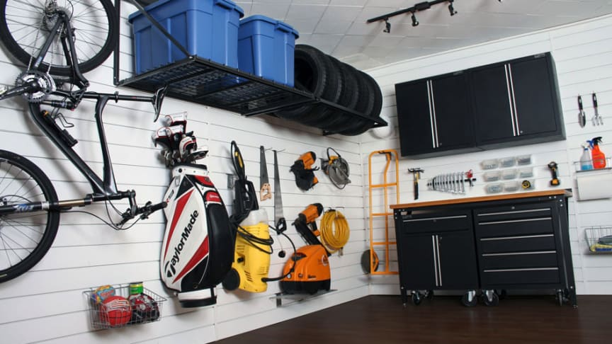 Hur skapar du ordning i garaget?