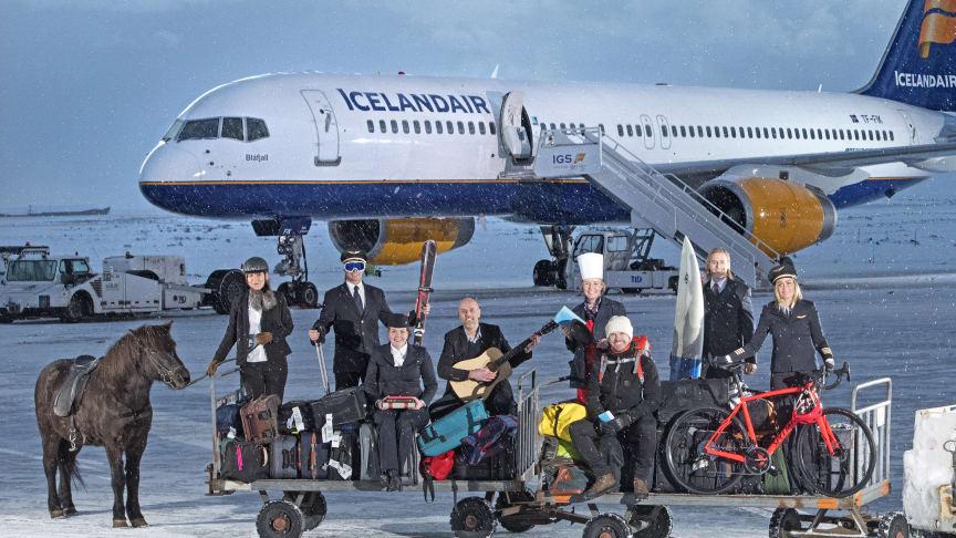 """Icelandair stiller direktøren og piloterne til rådighed som personlig lokal guide i den nye """"Stopover Buddy"""" service – ganske gratis"""