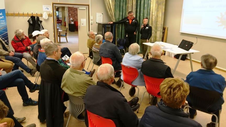 En träff har redan hållts i Rönnby, ytterligare en träff arrangeras på ACC den 24 augusti.