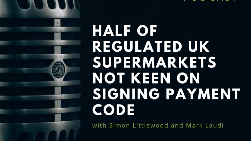 RIABU's Simon Littlewood and Mark Laudi discuss the pros and cons of signing the payment code.