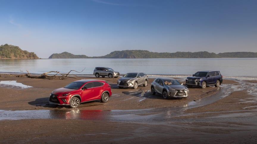Lexus passerer 5 millioner leverte luksus SUVer