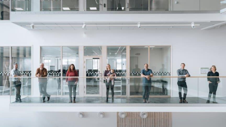 Norconsults nya medarbetare i Boden är nu på plats.