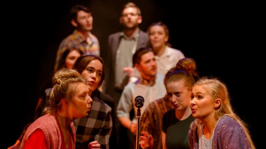 Northumbria University's Performing Arts students star in In the Middle of the West. Copyright © Toph McGrillis