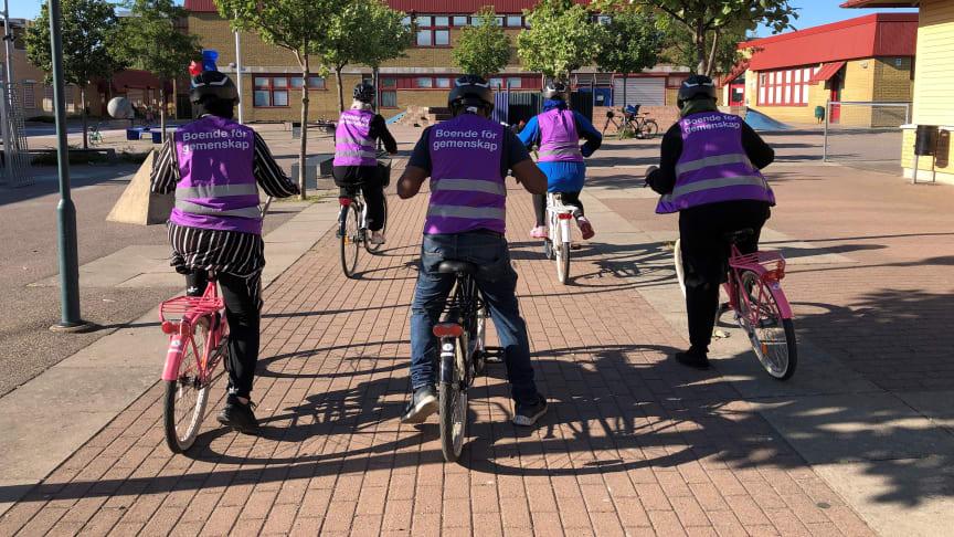 Cykelskola på Värner Rydénskolan, Rosengård