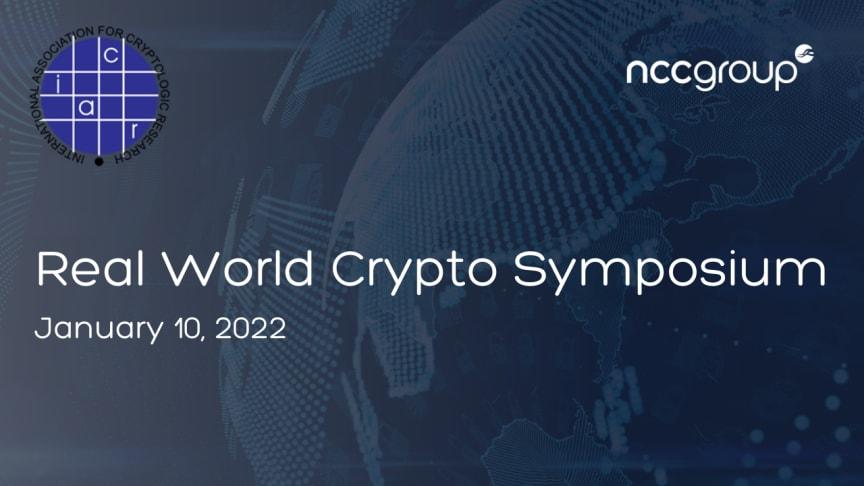 Real World Crypto