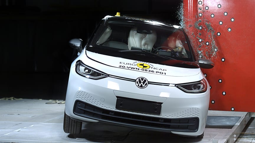 VW ID.3 scores 5 Stars in latest Euro NCAP safety tests