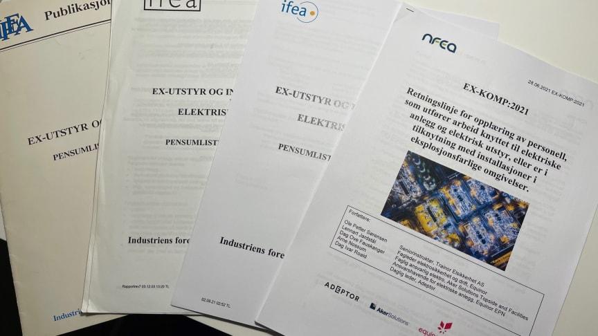 EX-KOMP:2021 er nå tilgjengelig i ny revidert utgave. Foto: Ole Petter Sørensen, Trainor