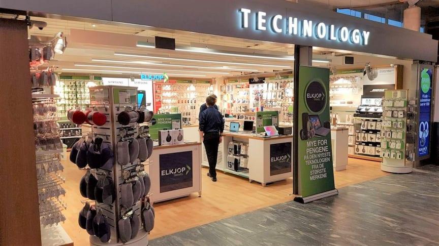 Elkjøp fortsetter videre drift av Elkjøp-butikkene på Gardermoen og redder dermed flere arbeidsplasser. Foto: Elkjøp Norge