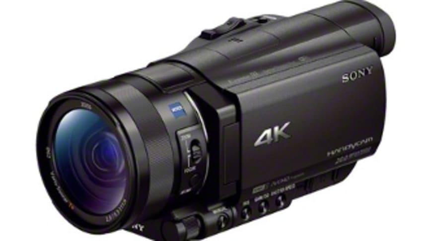Sony lancerer verdens mindste og letteste 4K*-videokamera samt 2014 line-up