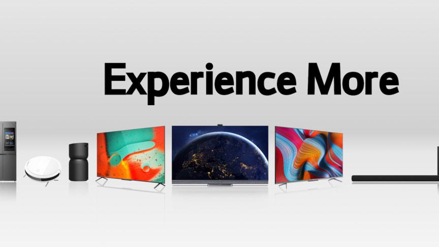 TCL stärker sitt innovativa ledarskap med de senaste produkterna inom TV, ljud, mobil och MDA under CES 2021
