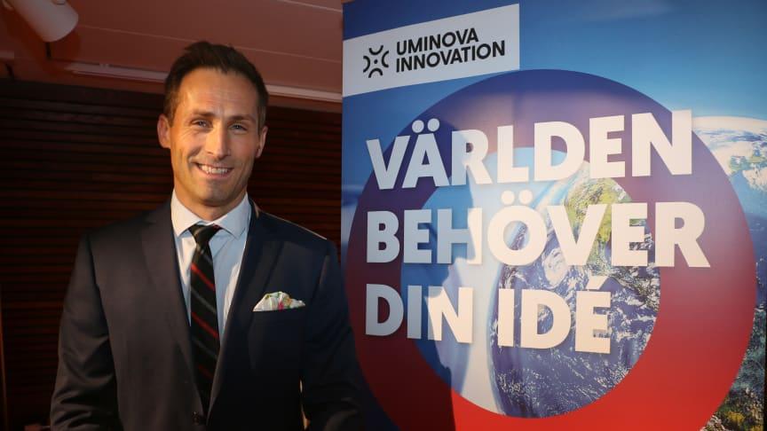 Johan Hedengran, affärsutvecklare tror och hoppas på kreativa och oväntade tävlingsbidrag.