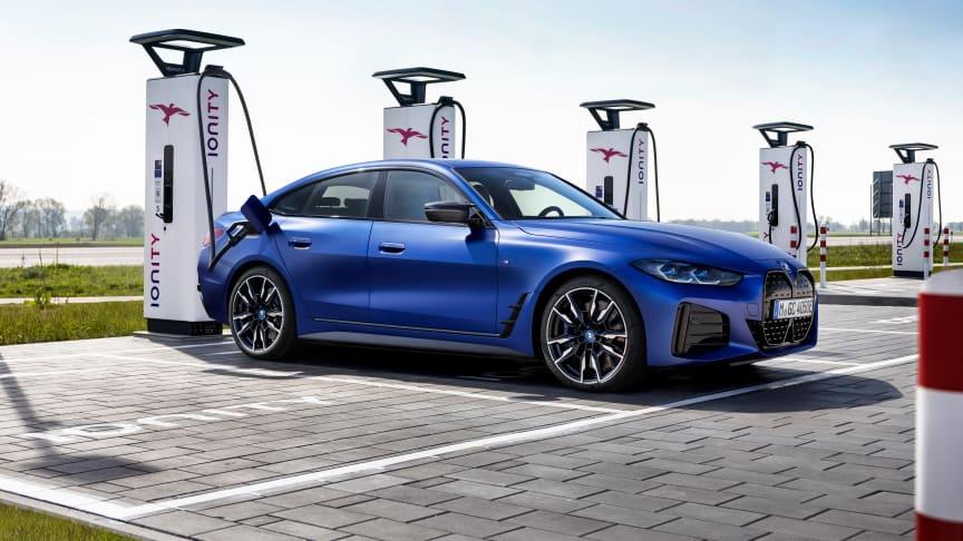 BMW i4: Elektrisk mobilitet til hjertet af BMW