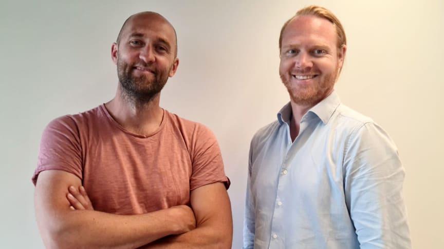 Freightbags grundare Mikael Gustafsson och Pär Engebretzen