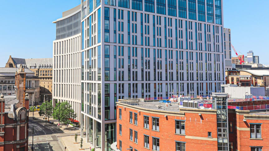 Landmark building on St Peter's Square, Manchester