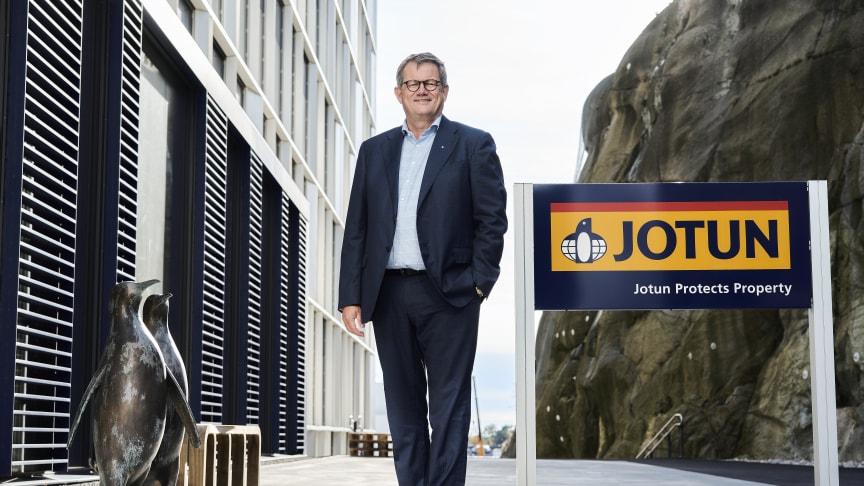 Konsernsjef Morten Fon. (foto: Morten Rakke/Jotun)