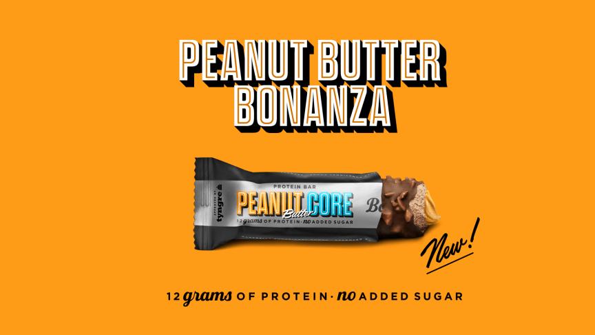 Nyhet från Barebells: Peanut Butter Core Bar
