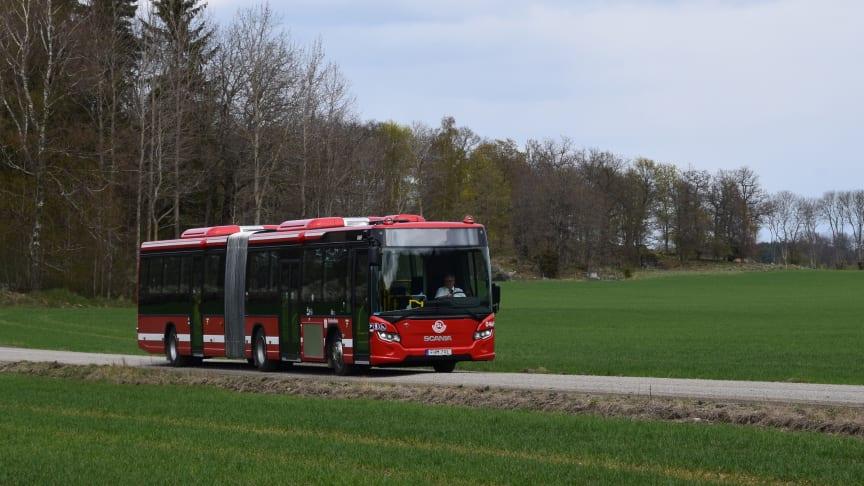 Nu förnyas bussflottan – ny teknik och helt fossilfritt