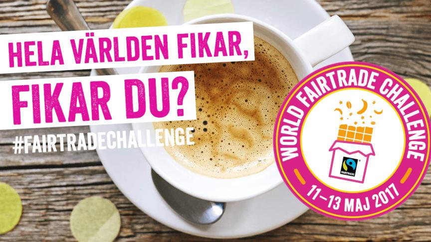 World Fairtrade Challenge ären kampanj som sätter fokus på varför Fairtrade behövs och vilken skillnad Fairtrade gör för odlare och anställda i länder med utbred fattigdom.