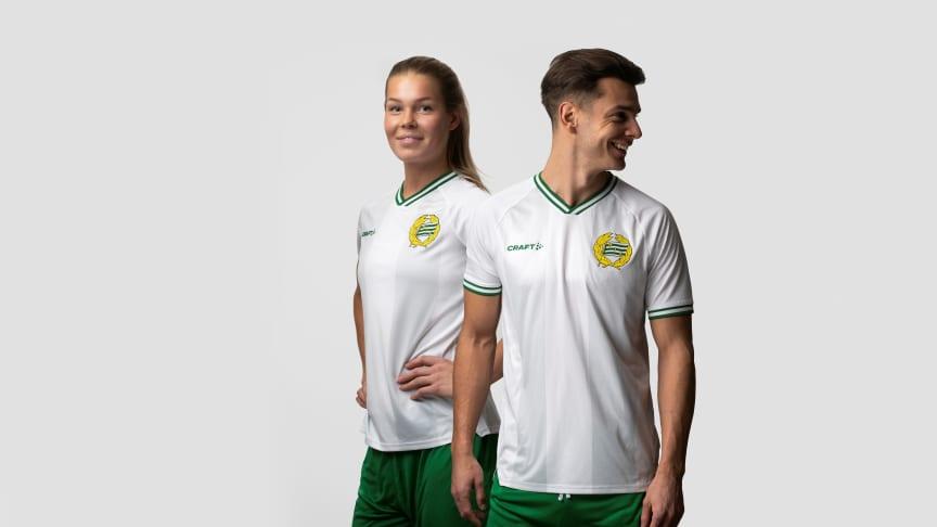 Hammarby Fotboll och Craft lanserar 2021 års hemmatröja