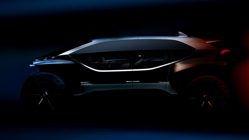 Audi viser AI:TRAIL quattro konceptbil i Frankfurt