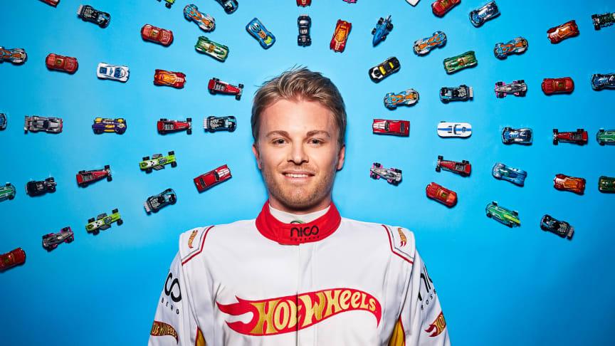 50 Jahre Hot Wheels -Nico Rosberg