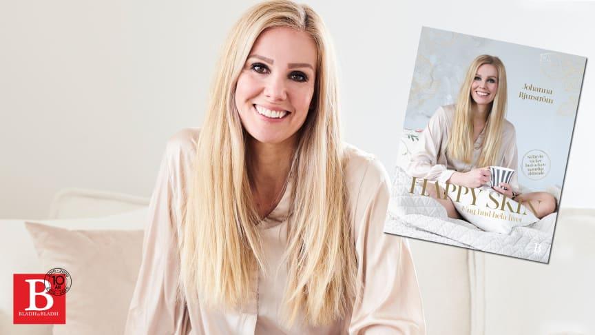 Johanna Bjurströms heltäckande hudvårdsbok Happy skin utkommer i juli