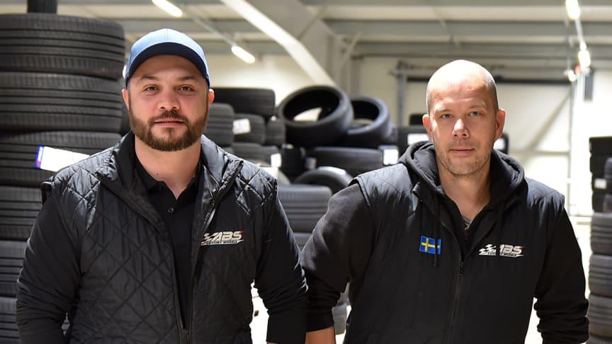 Till vänster; Tomas Can och Kristian Larsson