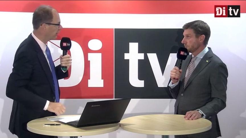 Bild från Di-TV på Jon Åsberg  och Stefan Ränk