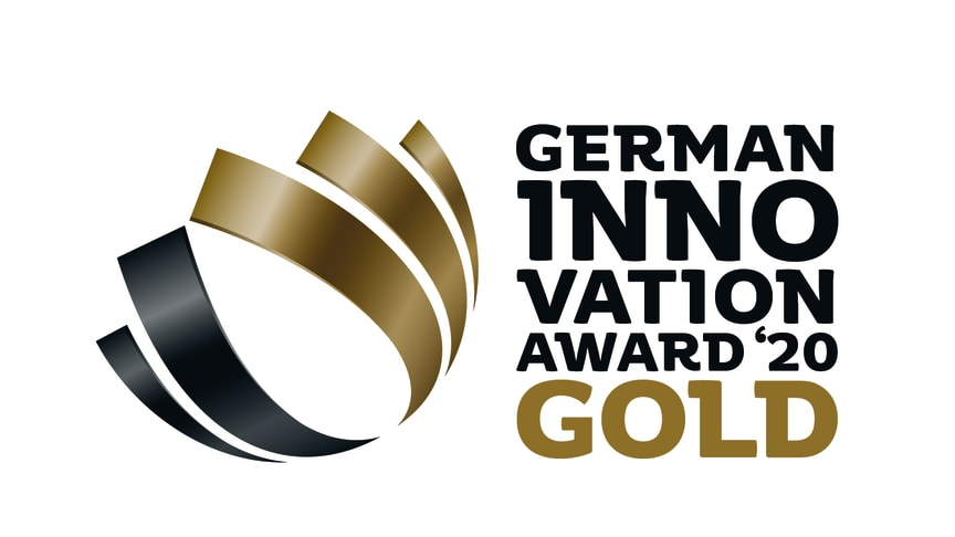 German Innovation Award Gold 2020 für Calligraphy Cut