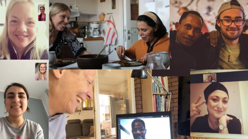 Digitala och fysiska möten mellan nya och etablerade svenskar bidrar till integration