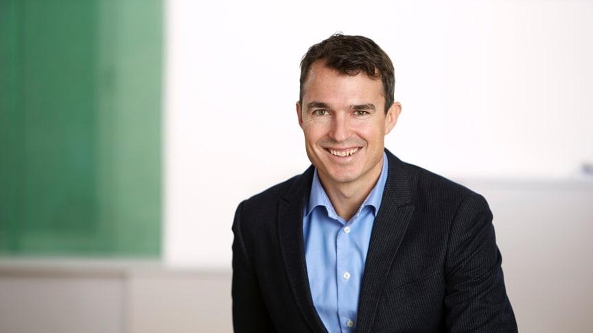 Alexander Wennergren Helm, tillträdande VD, Ernströmgruppen AB