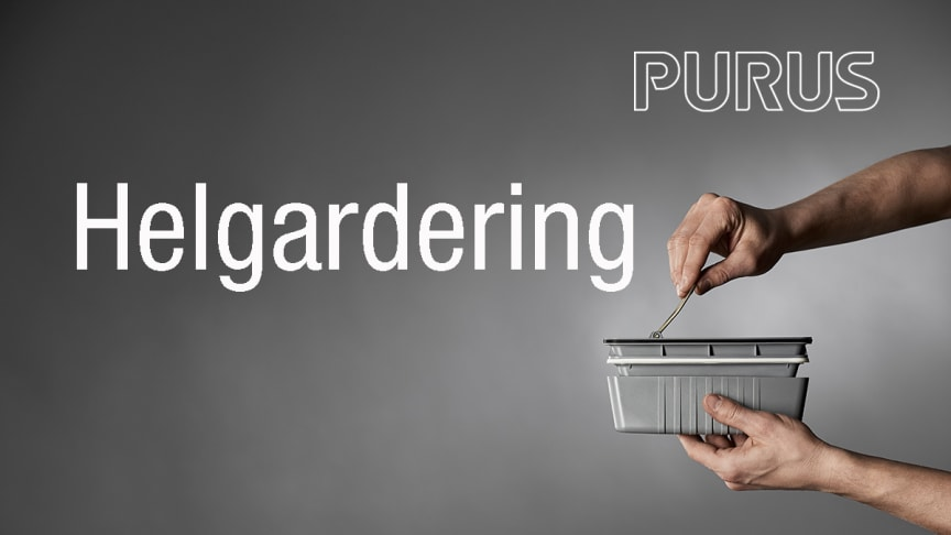 Purus Lanserer NOOD-vannlås som  standard  i Purus designsluk