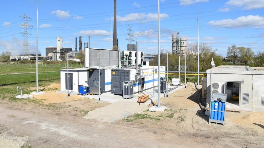 Neuer Elektrolyseur in Brunsbüttel. Foto: Wind2Gas Energy