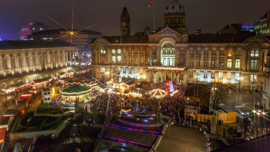 Passengers urged to plan travel for Birmingham Christmas Market