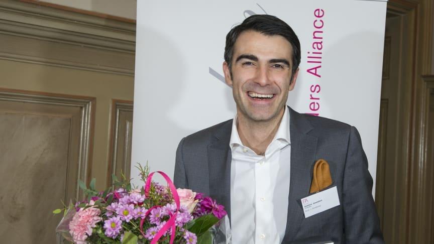 Dimitris Gioulekas - Årets Grundare Norr 2014