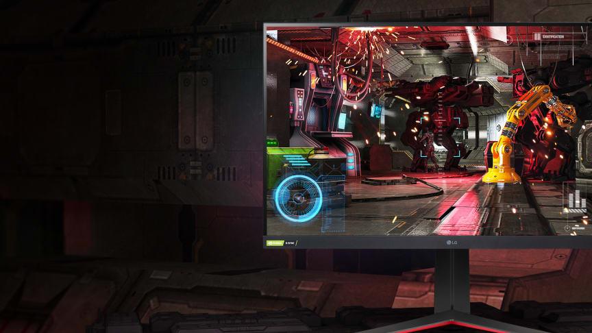 LG Electronics presenterar årets nyheter inom gaming-bildskärmar i UltraGear-familjen